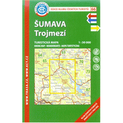 Šumava-Trojmezí 1:50T/KČT...