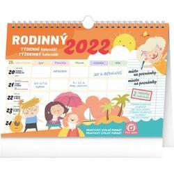 Kalendář 2022 rodinný...