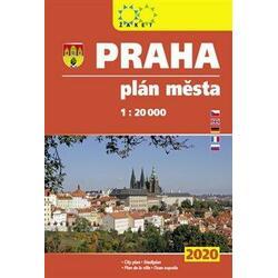 Praha - knižní plán města...