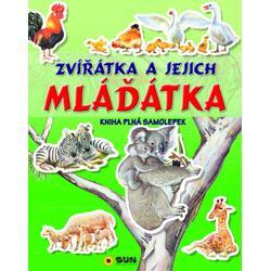Zvířátka a mláďátka - kniha...
