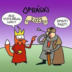 Opráski - Kalendář 2022